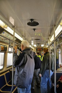 All of the new CTA rail cars are equiped surveillance cameras, but will all they really reduce thefts? Credits:   vxla via creative commons